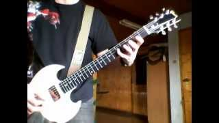 AC/DC The Jack Cover 1st solo improvisation Gibson SG