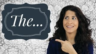 How to say the word 'the'