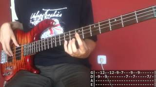 ∆ Alt-J - Tessellate (Bass Cover with TABS!)