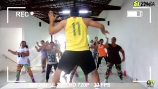 ZUMBA® EXPOFITNESS - Me Marcharé - Los Cadillacs (feat. Wisin) Coreografia Zin Cleyton Pereira