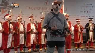 Fetih Marşı - Mehteran Takımı - Etnospor Kültür Festivali - TRT Avaz
