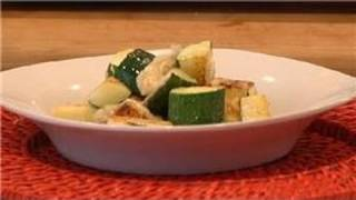 From Garden to Table : How to Oven-Roast Zucchini Squash With Parmesan