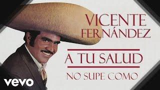 Vicente Fernández - No Supe Cómo - Cover Audio