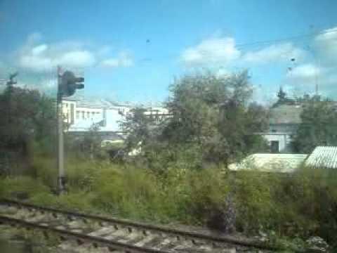 Ukraina z okna pociągu 1