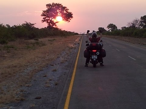 To Victoria Falls Full HD Smartphone Motorcycle Adventure