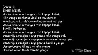 MURDER LYRICS BY WILLY PAUL width=