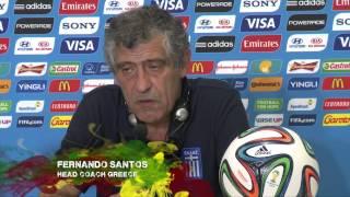 """Fernando Santos: """"Vergessen, was passiert ist""""   Japan - Griechenland   FIFA WM 2014 Brasilien"""