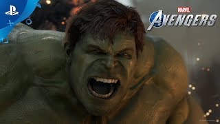 Marvel's Avengers | A Day Prologue Gameplay Footage | PS4