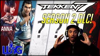 TEKKEN 7 Season 2 DLC Evo Reveal! Lei and Anna Confirmed! Suiken reacts!
