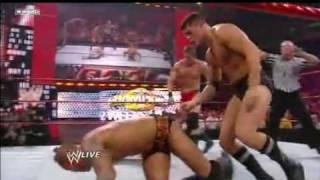 Raw: Seth Green, John Cena & Triple H vs. The Legacy