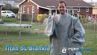 Is This REAL? A Waterproof Personal Cover? Titan 5L Blankie Funny Commercial