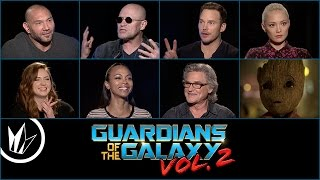 GUARDIANS OF THE GALAXY VOL. 2 - Sit Down With the Stars feat. Matthew Hoffman