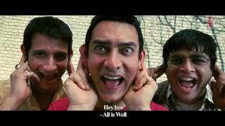 All Izz Well Full HD Song 3 Idiots
