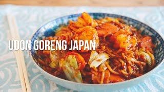 How to make Udon Goreng Japan