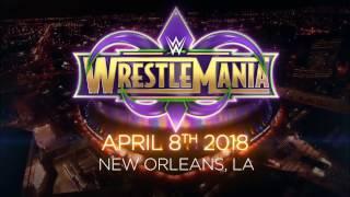 WrestleMania 34 promo