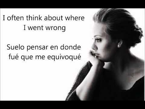Dont You Remember En Espanol de Adele Letra y Video
