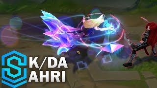 K/DA Ahri Skin Spotlight - League of Legends