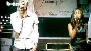Vodacom Superstar Congo Esther et Peter chante Sandra Mbuyi - naloboko ya tata nanga