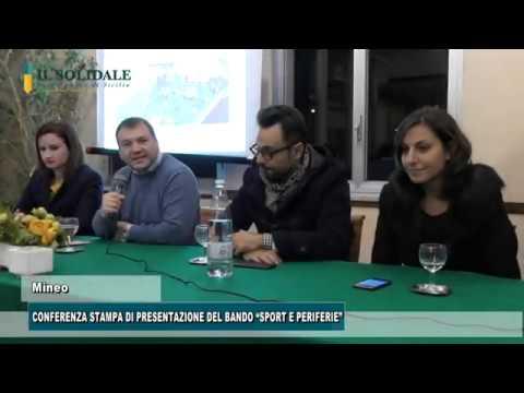 """Video: CONFERENZA STAMPA DI PRESENTAZIONE DEL BANDO """"SPORT E PERIFERIE"""""""