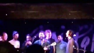 Ron Pope & The Nighthawks & Zach Berkman - Ohh La La Acapella - Live @ Manchester Academy 3 2016