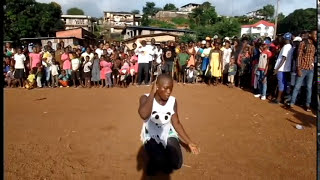 LXG - Cher Am 'Challange' by Sierra Leonean Dancers Through DanceSalone