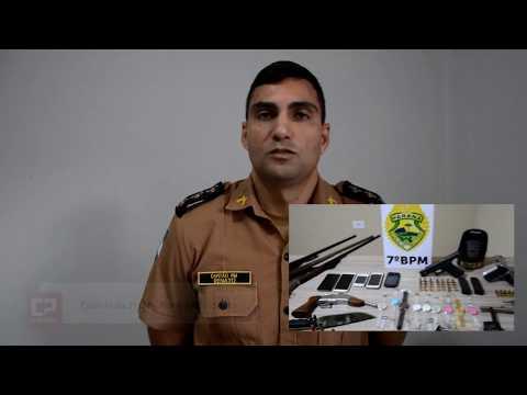 Operação conjunta entre Polícia Militar e Civil prende três pessoas em Goioerê
