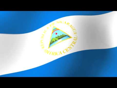 Flag of Nicaragua – Bandera de Nicaragua