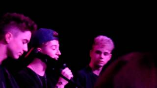 Why Don't We Music performing Perfect Live at Taking You Seattle