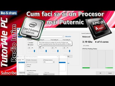 Cum faci sa ai un Procesor mai Puternic