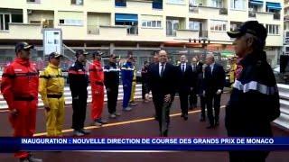 S.A.S. le Prince Albert II inaugure la nouvelle direction de course