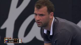 Dimitrov v Millman match highlights (2R) | Brisbane International 2019