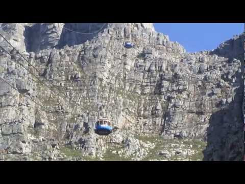 PAUL HODGE: AFRICA'S TABLE MOUNTAIN, SOLO AROUND WORLD IN 47 DAYS, Ch 73, Amazing World in Minutes