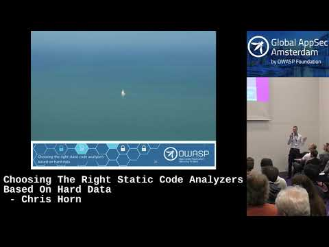 Choosing The Right Static Code Analyzers Based On Hard Data - Chris Horn