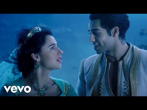 "Mena Massoud, Naomi Scott - A Whole New World (From ""Aladdin"") - YouTube"