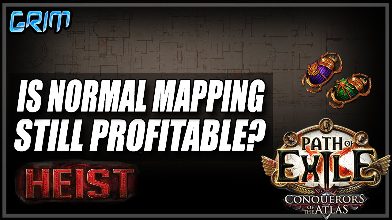 Grimro - [PoE 3.12]How To Make Currency With Low Investment Mapping!