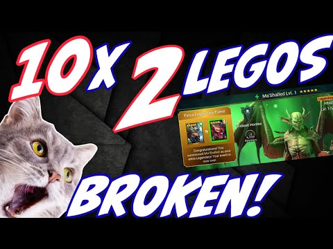 10x TWO LEGOS has been CRAZY! Raid Shadow Legends summons