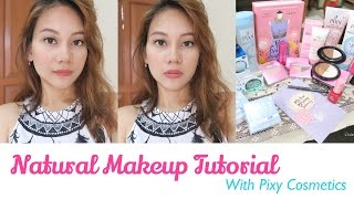 Natural Makeup Tutorial with PIXY Cosmetics Indonesia width=