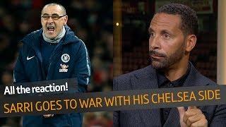 WOW! Maurizio Sarri slams his Chelsea players |