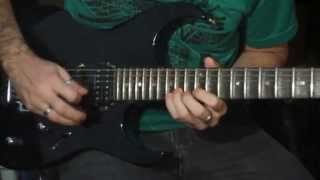 A destra - Fernandinho Video Aula solo de guitarra