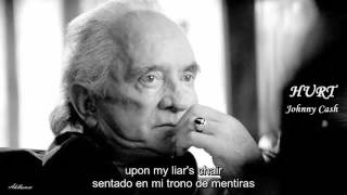 Johnny Cash - Hurt [ Subtítulos en inglés y español ]