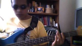 Are you gonna go my way (Bass cover)