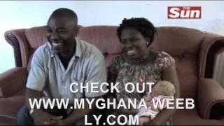 BLACK NIGERIAN  COUPLES GAVE BIRTH TO WHITE BLONDE BABY