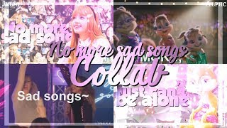 ❥Multifandom - No more sad songs// (Full♥Collab w/Alphc)