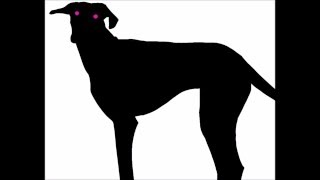 Dog Silhouette Animation