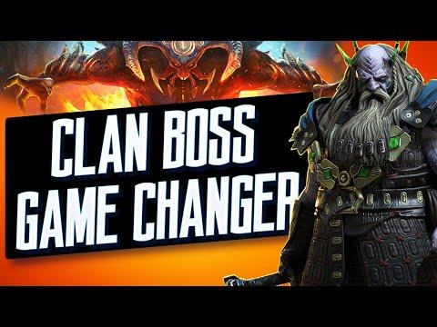 Underpriest Brogni Fusion : AMAZING in Clan Boss I Raid Shadow Legends