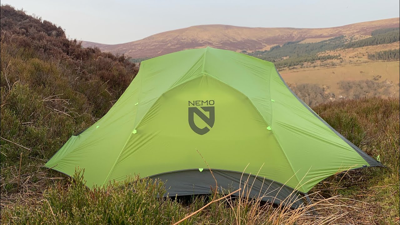 Wild Camping in the Wicklow Mountains