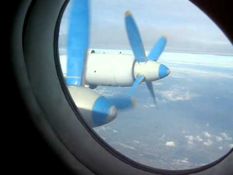 Tandem Aero IL-18 In flight – Window View 1