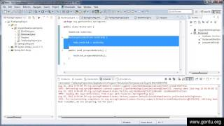 Spring Tutorial 8 - Dependency Injection using setter method way ( Hands on using Eclipse IDE )