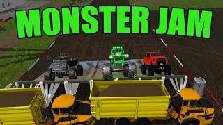 CONSTRUCTION   MONSTER JAM   TRUCKS   FARMING SIMULATOR 2017