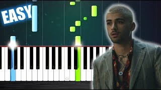 ZAYN - Dusk Till Dawn ft. Sia - EASY Piano Tutorial by PlutaX